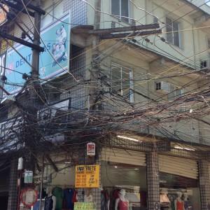 Electricity distribution in Rio das Pedras